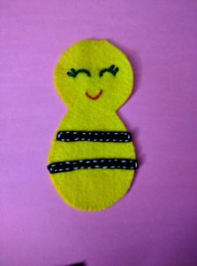 Bee stiched